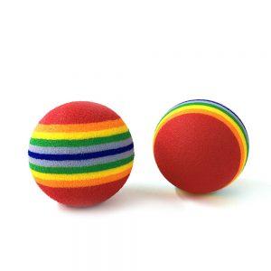 Rainbow Toy Ball 1Pcs 3 Sizes