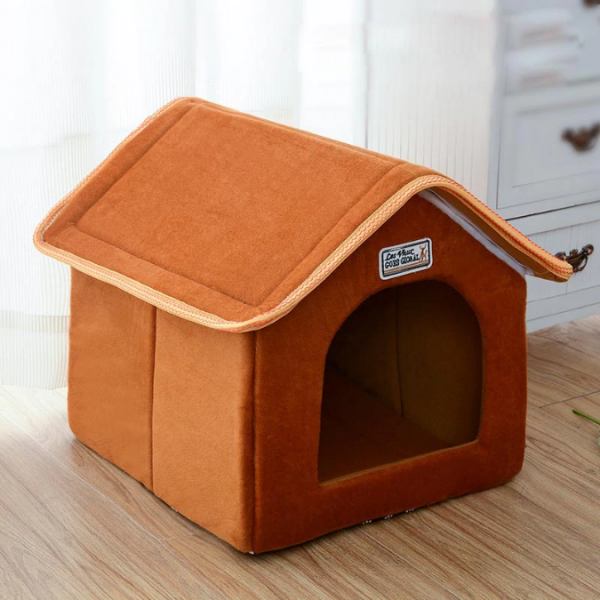 Pet House Brown