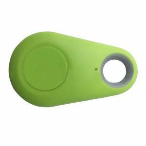 Pets Smart Mini GPS Tracker Anti-Lost Waterproof Bluetooth Green