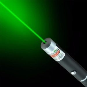 Laser Pen Interactive Toy For Cat Green