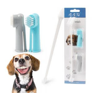 Dog Toothbrush In Three Parts